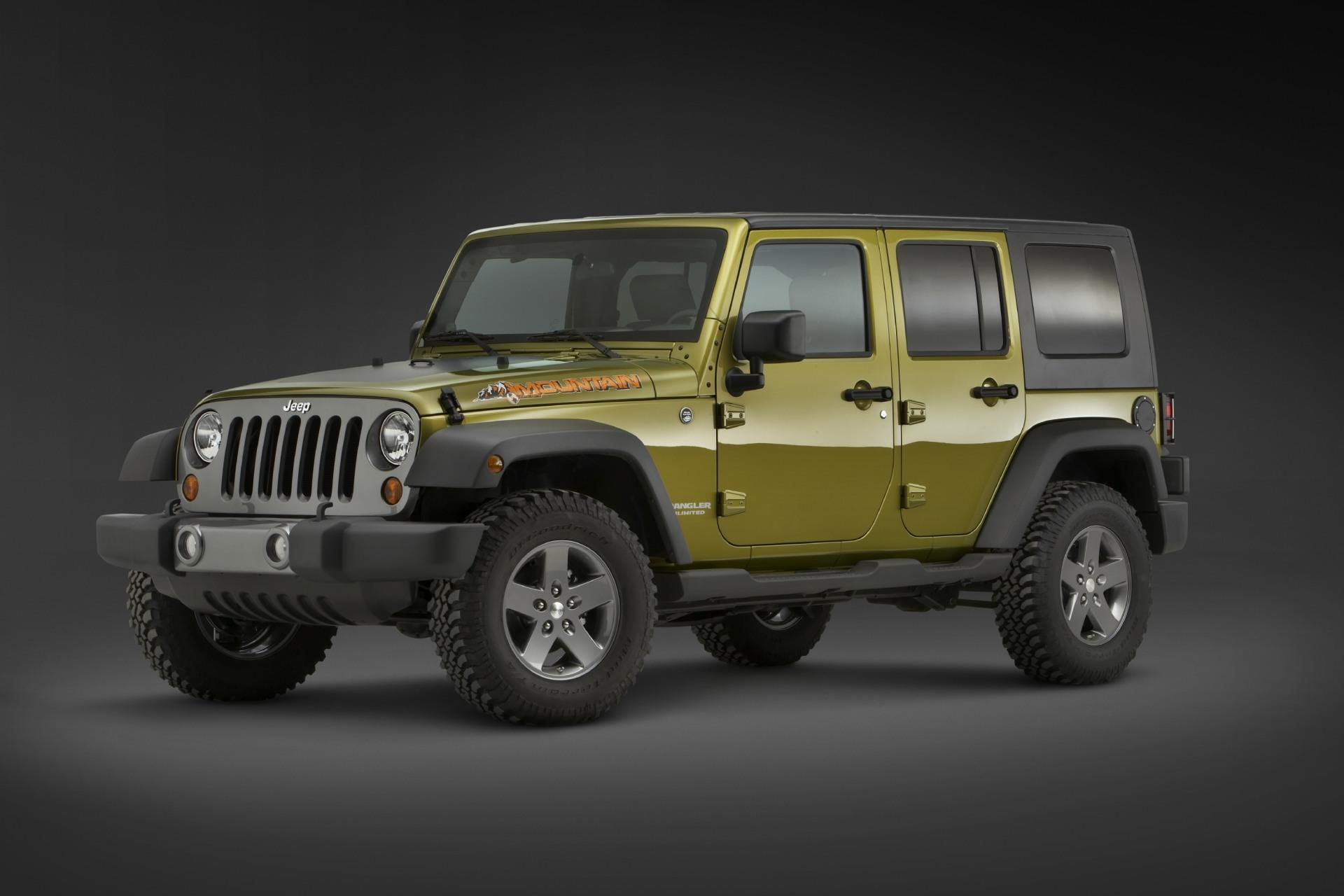 2010 Jeep Wrangler Unlimited Mountain Edition News And