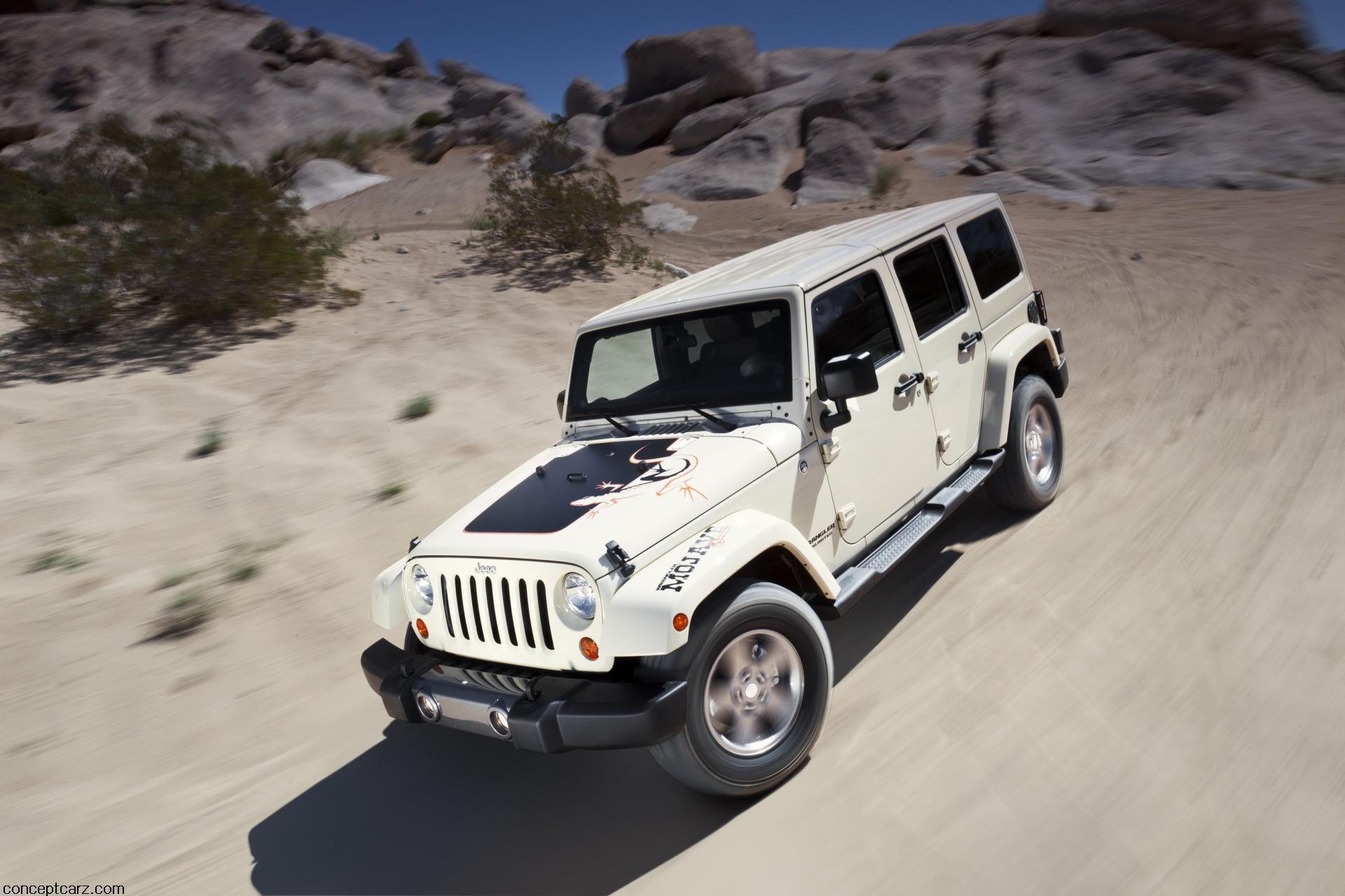 2011 Jeep Wrangler Mojave Edition News and Information