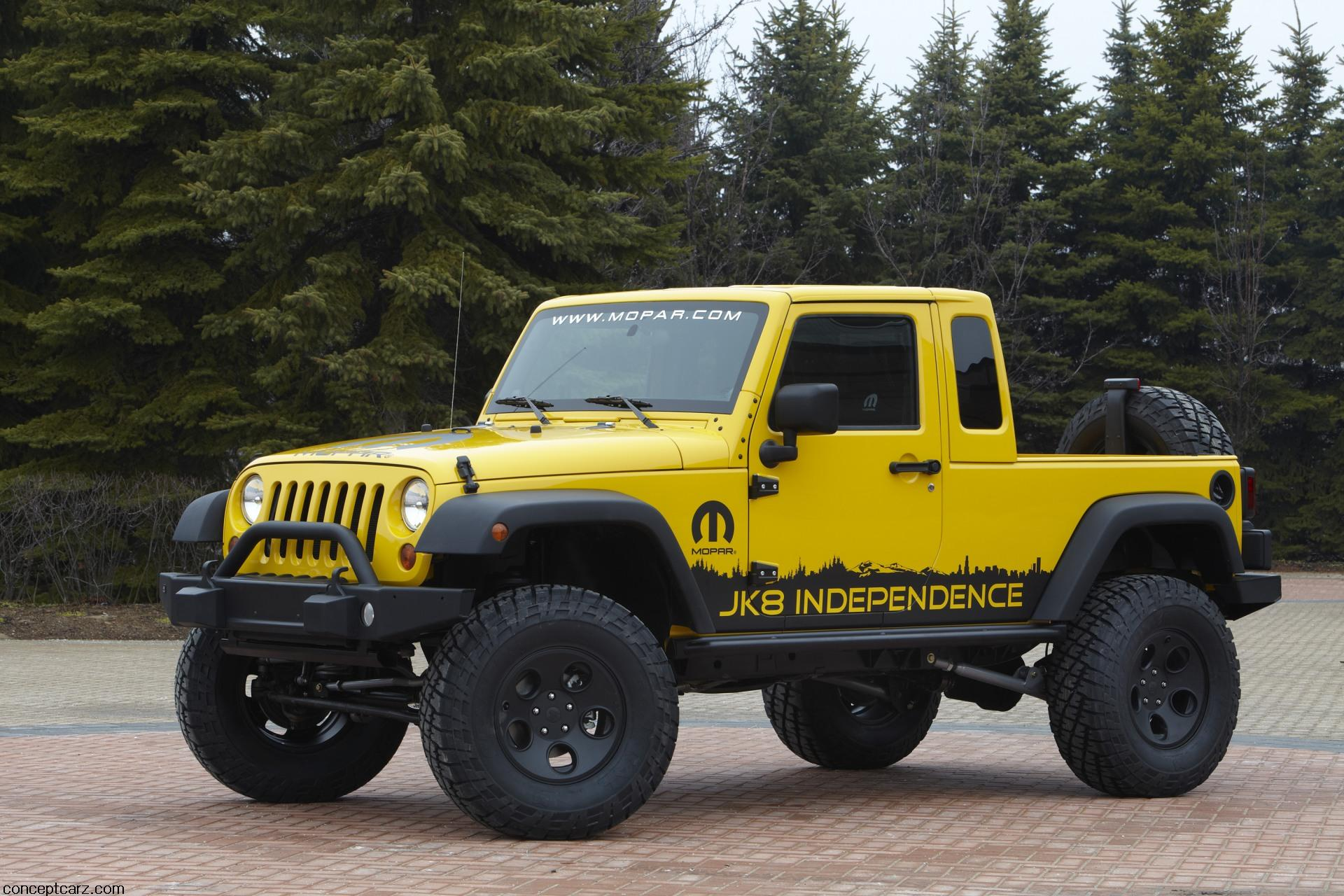 Jeep Brute Price >> 2011 Jeep JK-8 Independence News and Information - conceptcarz.com