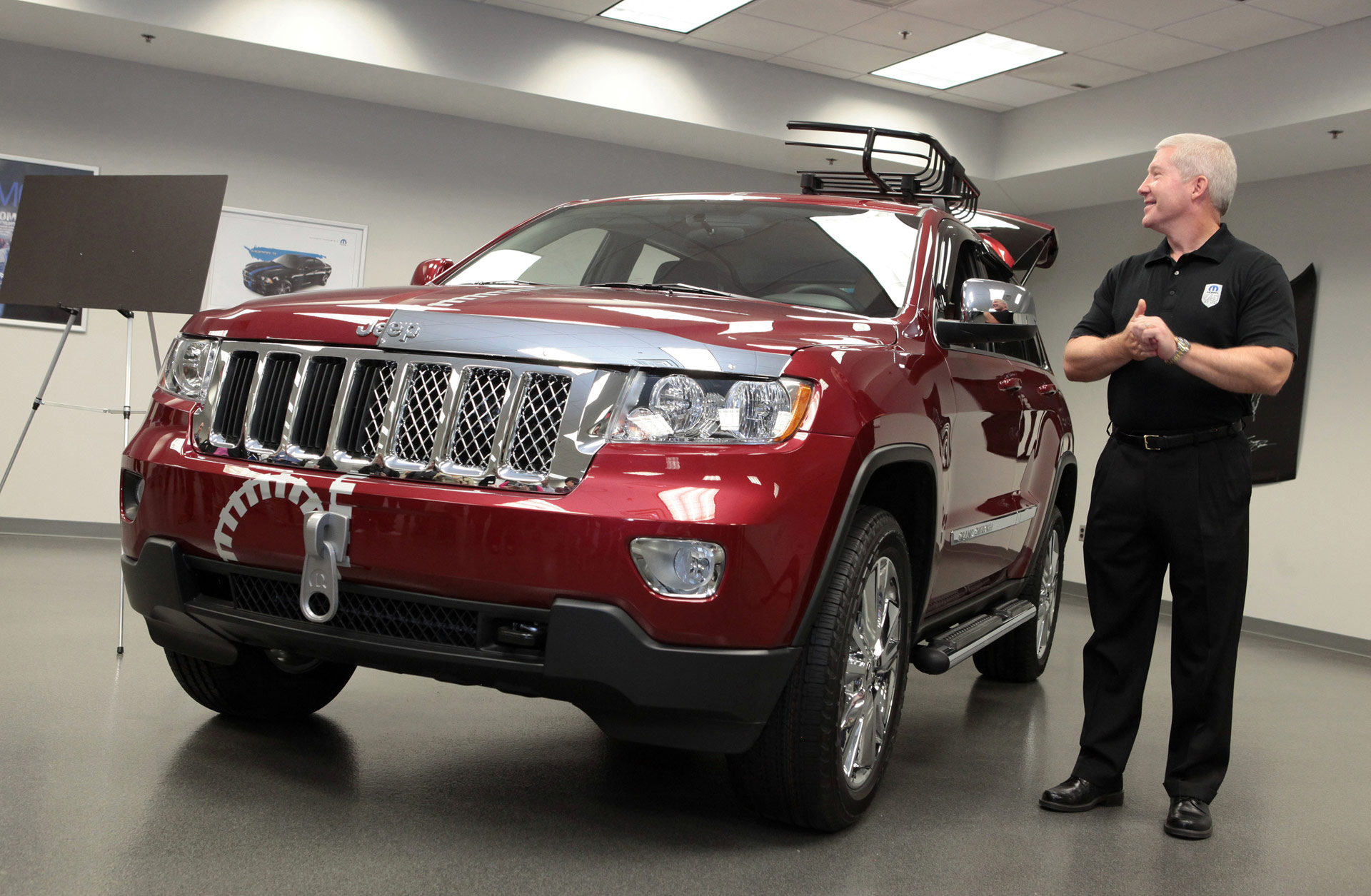 2012 Jeep Grand Cherokee Half & Half News and Information