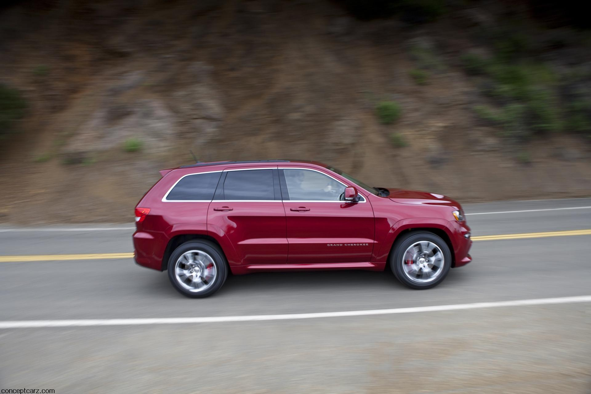 2012 Jeep Grand Cherokee SRT8 News and Information