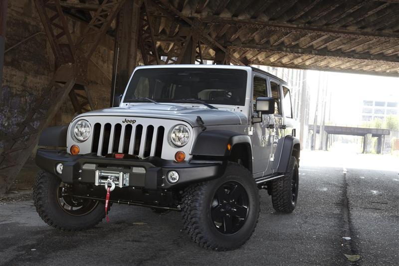 2012 Jeep Wrangler Call of Duty
