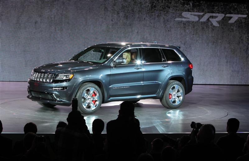 Jeep Grand Cherokee Anniversary Edition >> 2014 Jeep Grand Cherokee SRT Image. Photo 57 of 63