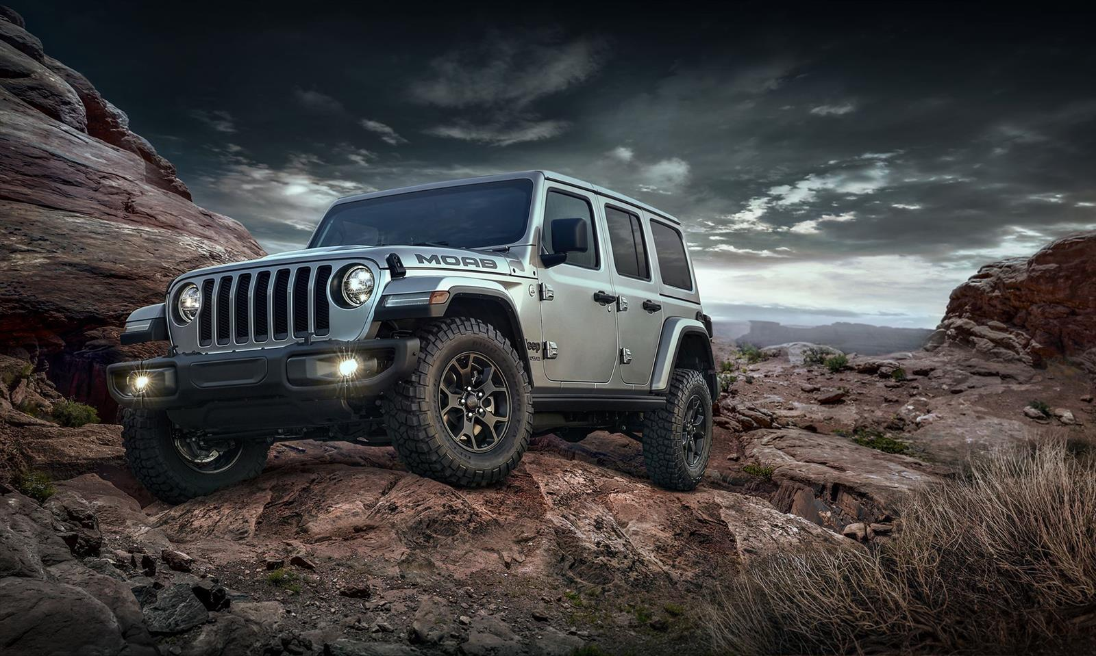 2018 Jeep Wrangler Moab Edition