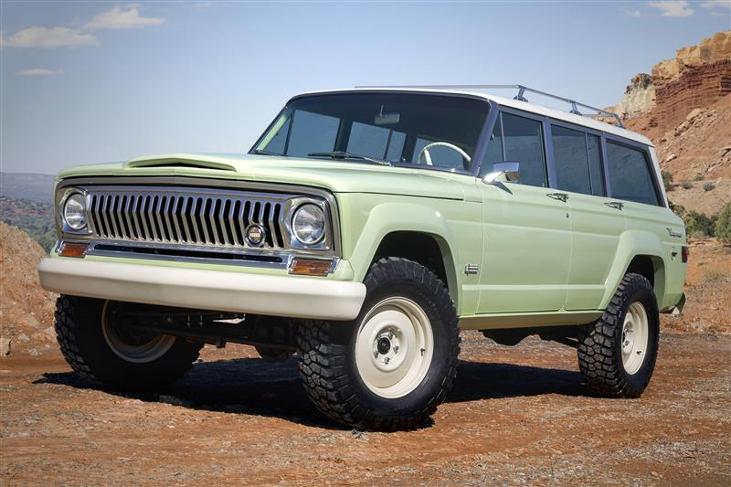 2018 Jeep Wagoneer Roadtrip Concept Pictures And Wallpaper