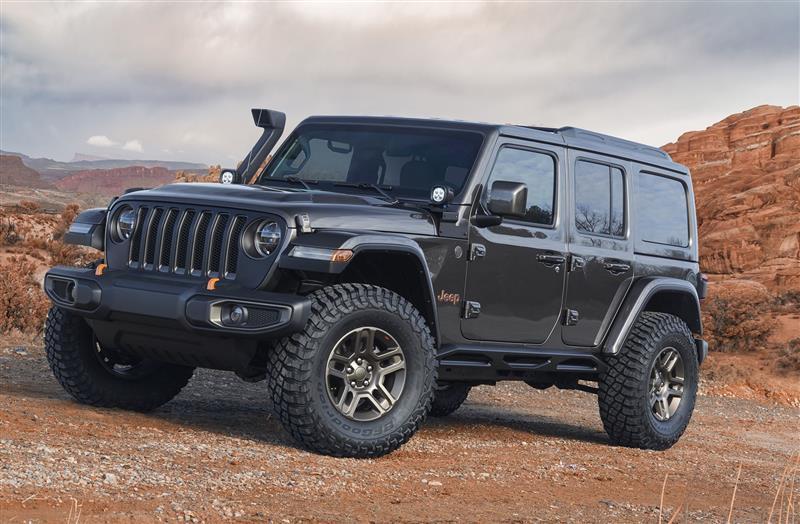 2018 Jeep J-Wagon Concept