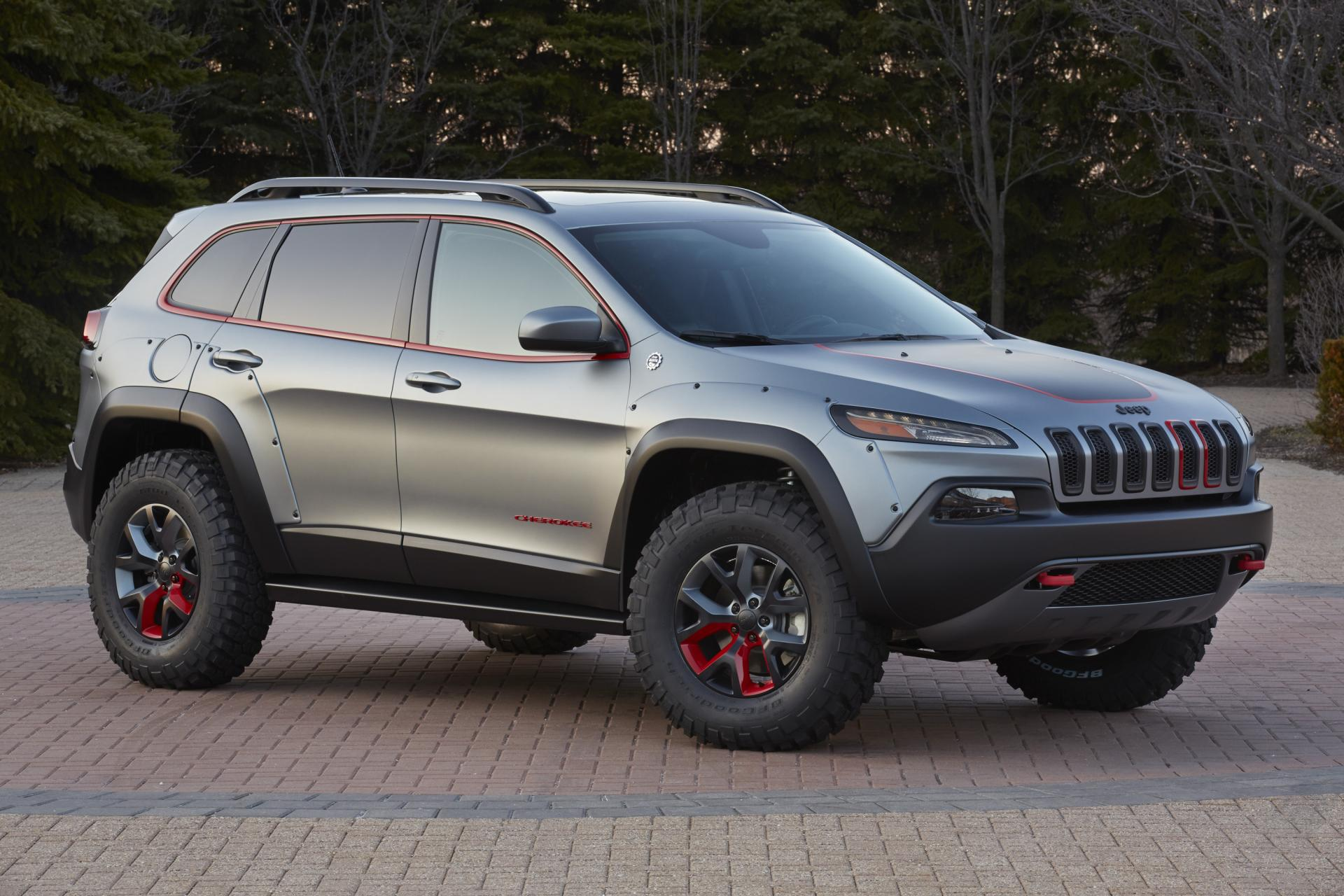 2011 Jeep Grand Cherokee Body Kit >> 2014 Jeep Cherokee Dakar News and Information