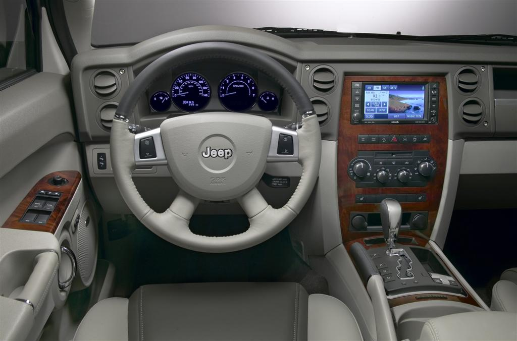 2009 jeep commander news and information for Jeep commander interior