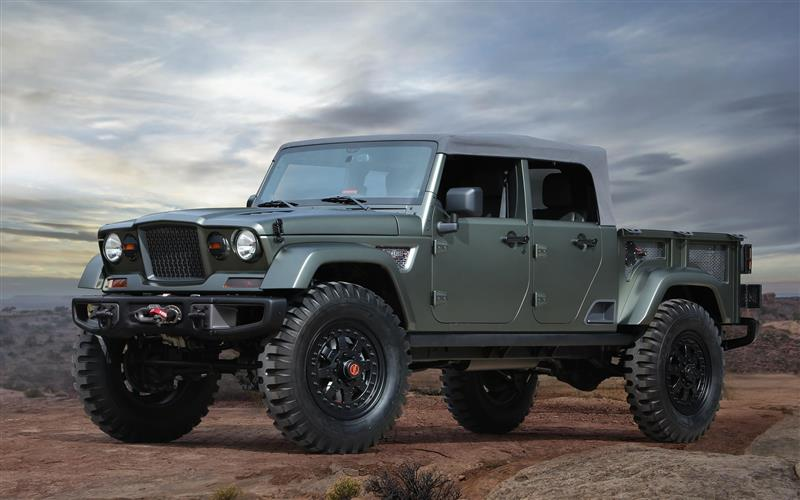 Jeep Concept 2016 >> 2016 Jeep Crew Chief 715 Concept News And Information Research And