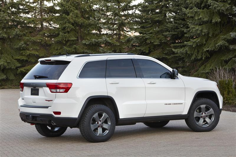 2012 Jeep Grand Cherokee Trailhawk Concept News And Information