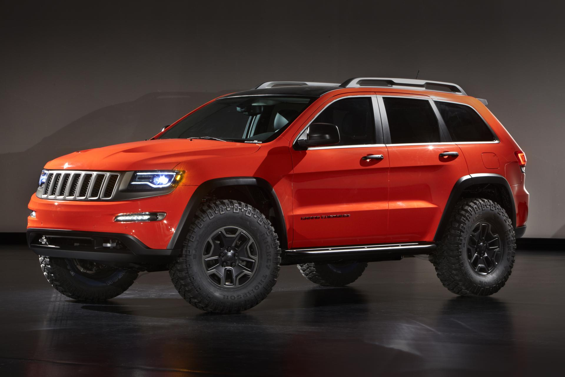 2013 Jeep Grand Cherokee Trailhawk II Concept News and Information