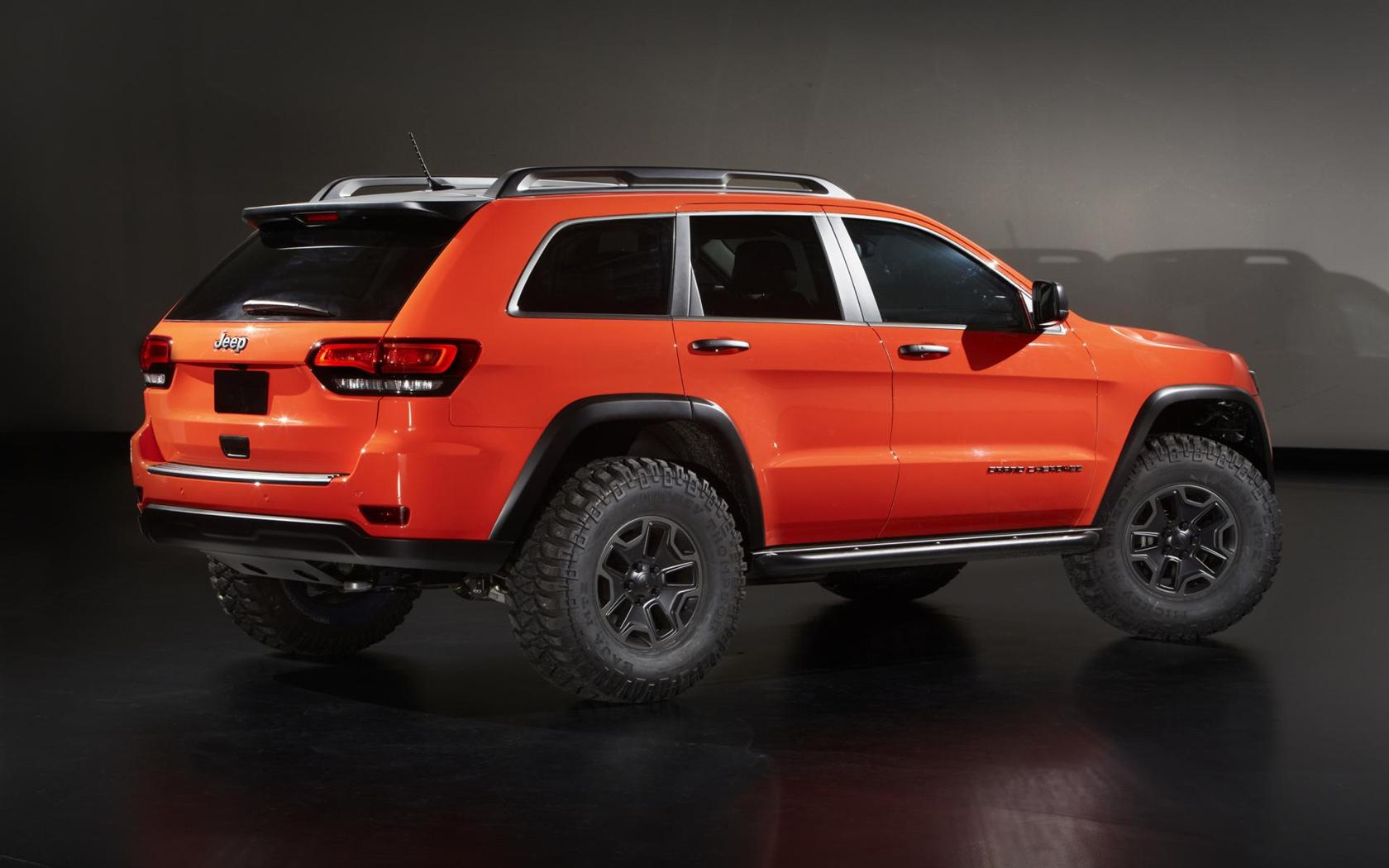 2013 jeep grand cherokee trailhawk ii concept image photo 5 of 6. Black Bedroom Furniture Sets. Home Design Ideas