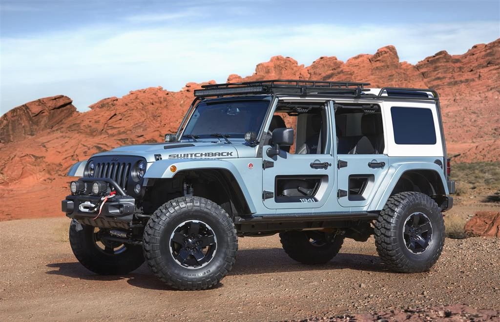 2017 Jeep Switchback Concept