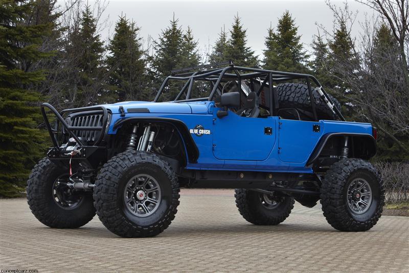 2011 Jeep Wrangler Blue Crush