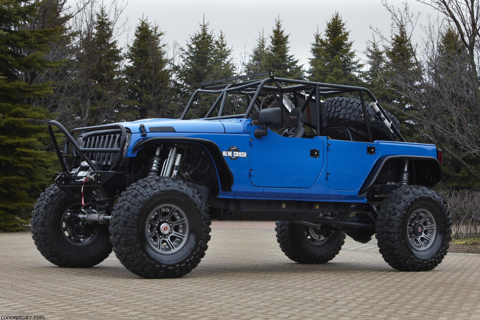 Jeep Wranger Blue Crush Image on 94 Toyota Pickup Interior