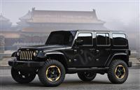 2012 Jeep Wrangler Dragon Design Concept image.