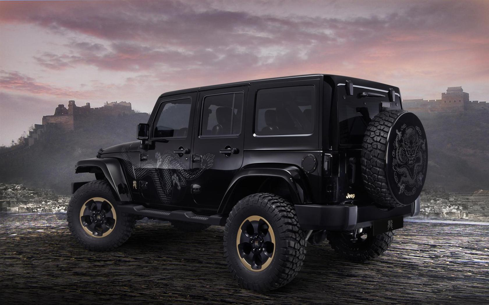 2012 Jeep Wrangler Dragon Design Concept