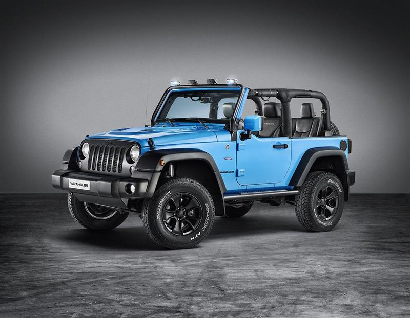 2017 Jeep Wrangler Mopar ONE