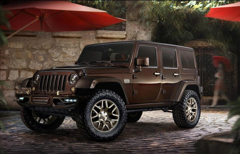 2014 Jeep Wrangler Sundancer Design Concept