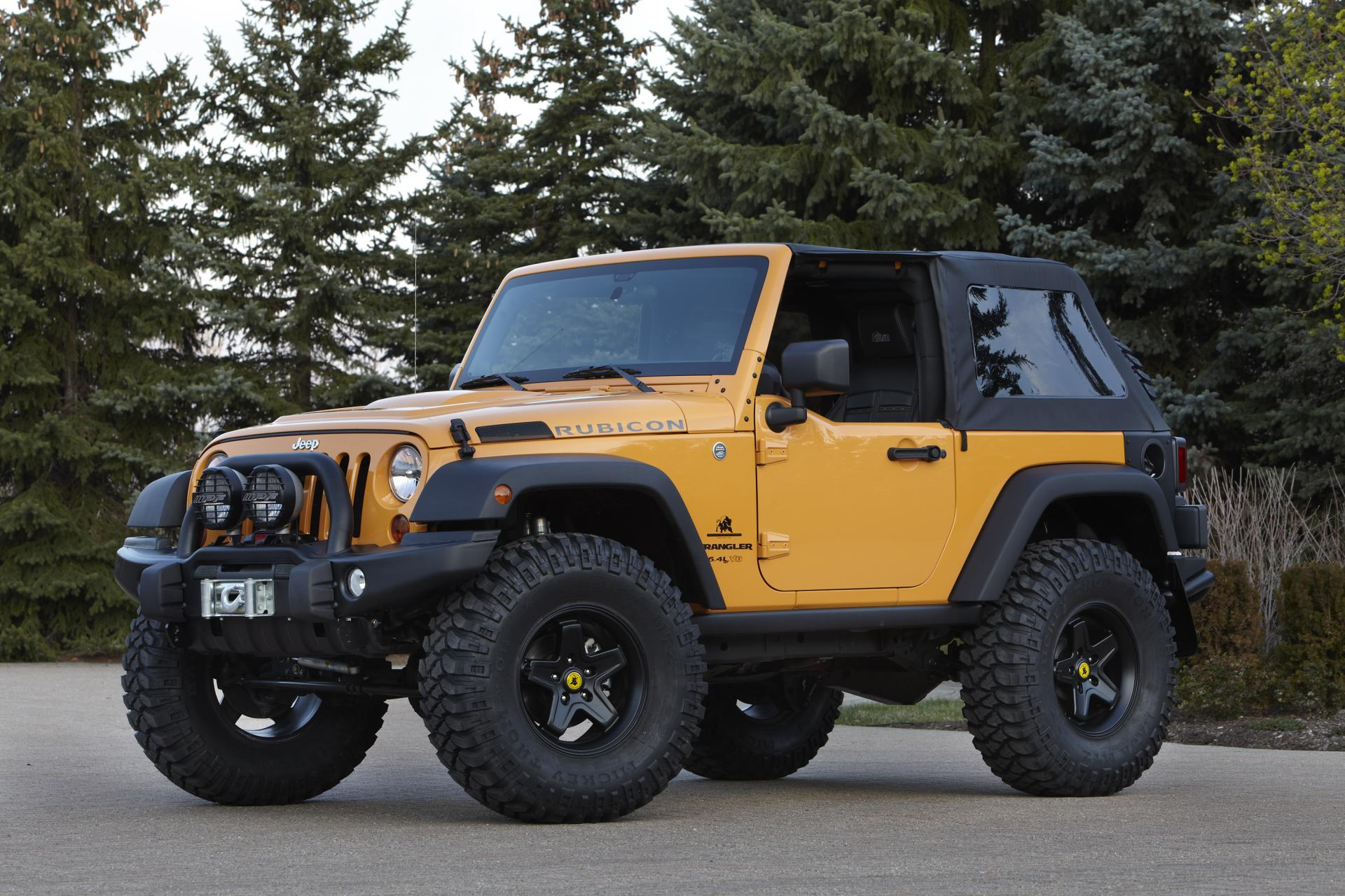 2012 jeep wrangler traildozer concept news and information research and history. Black Bedroom Furniture Sets. Home Design Ideas