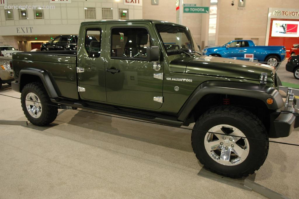 2005 Jeep Gladiator Concept Image. Photo 18 of 36