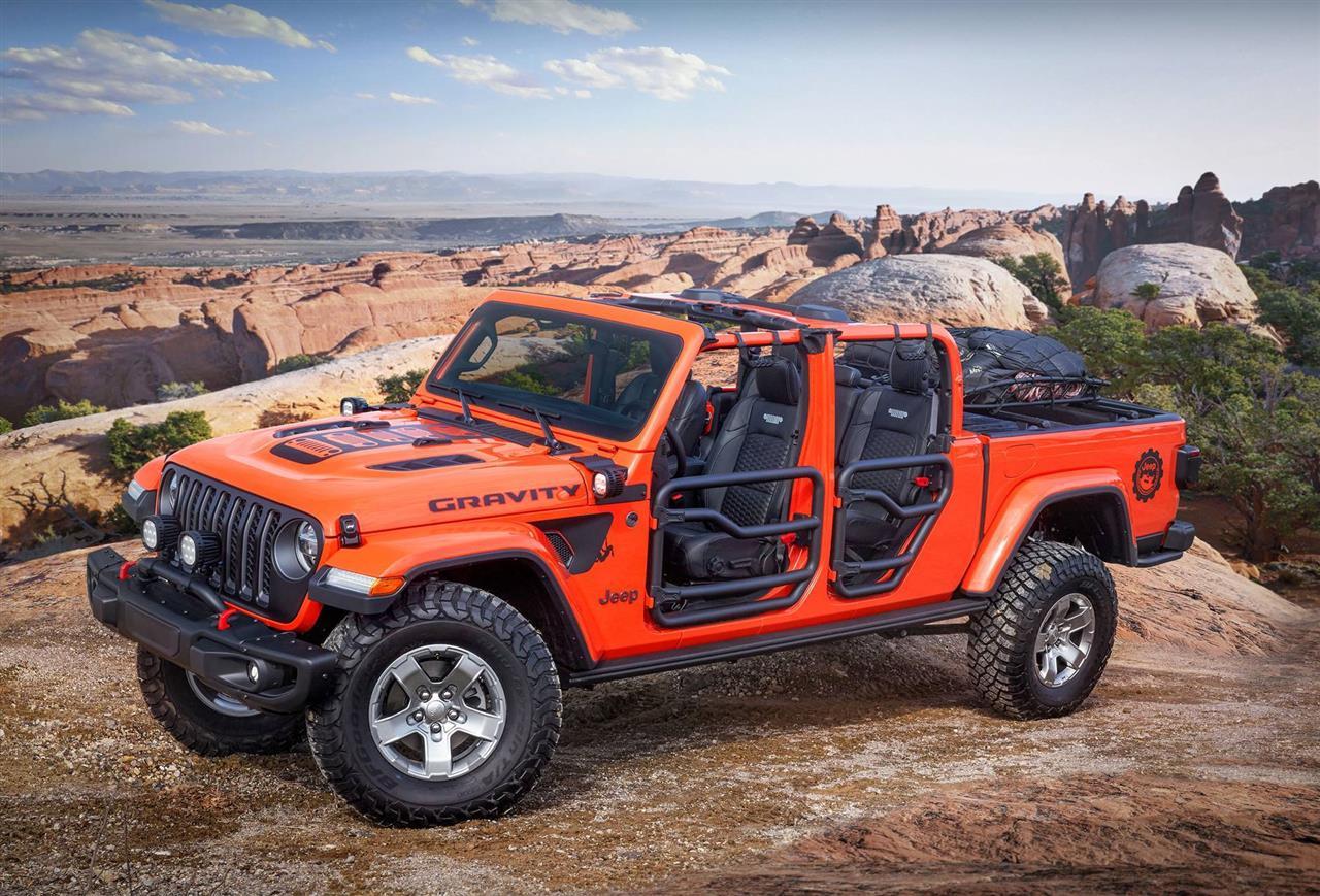 2019 Jeep Gladiator Gravity Concept