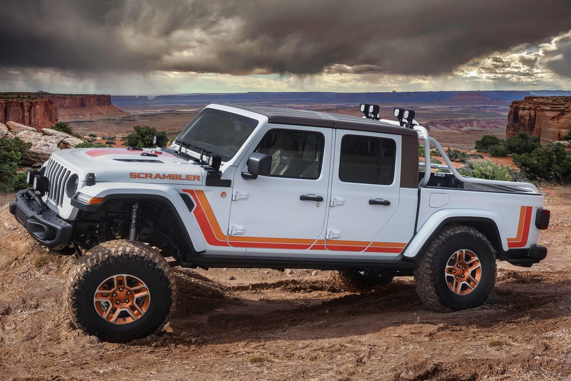 2019 Jeep JT Scrambler Concept