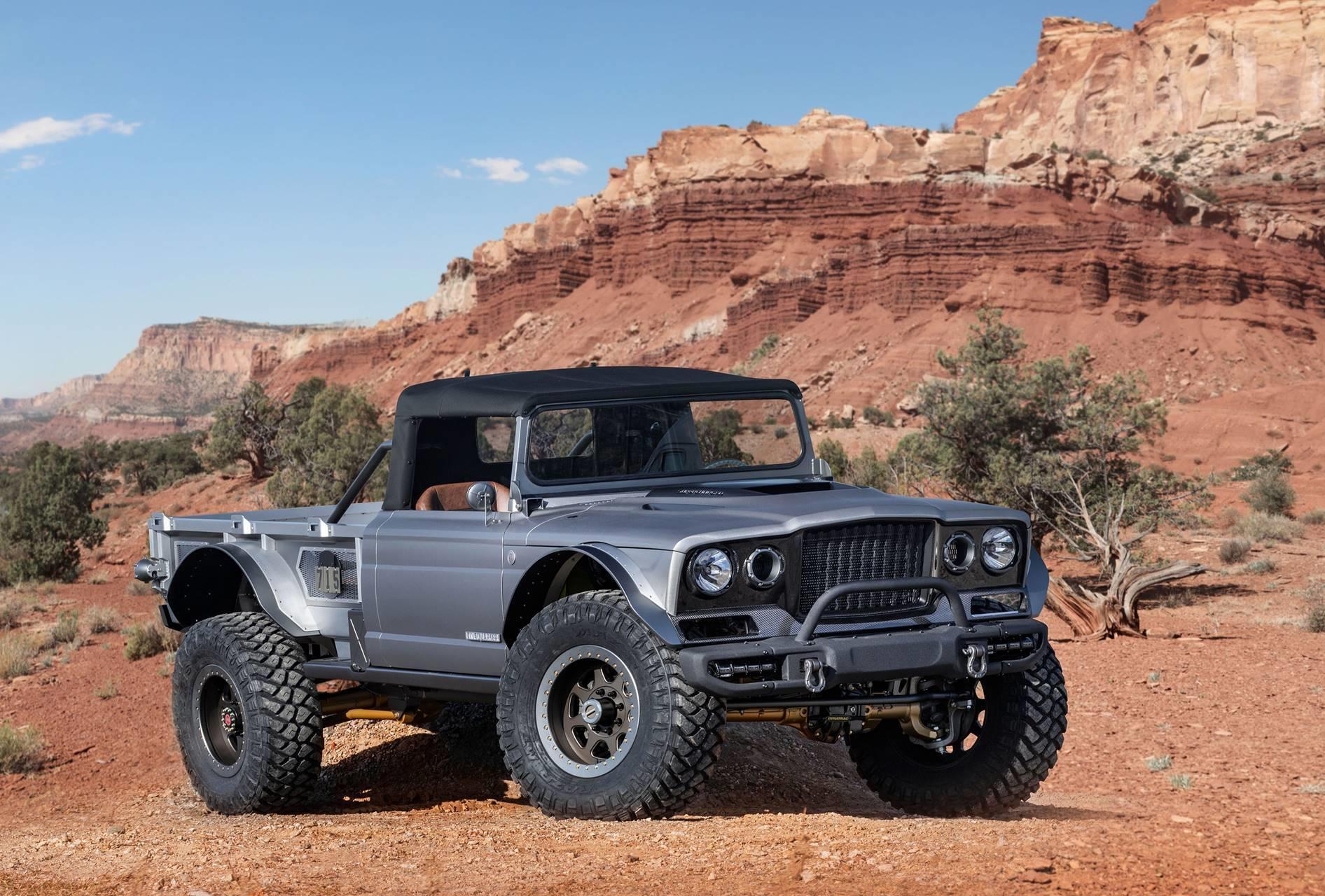 2019 Jeep M-715 Five-Quarter Concept