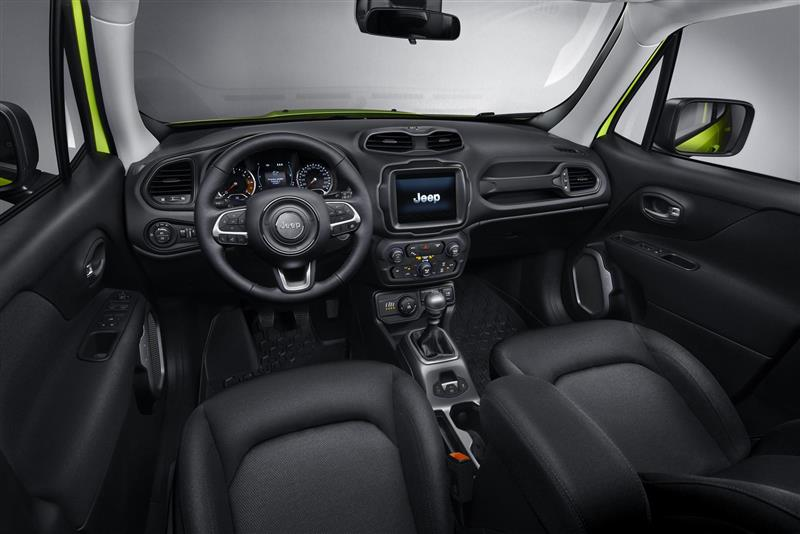 2018 Jeep Wrangler Interior >> 2018 Jeep Renegade Hyper Green Livery Images