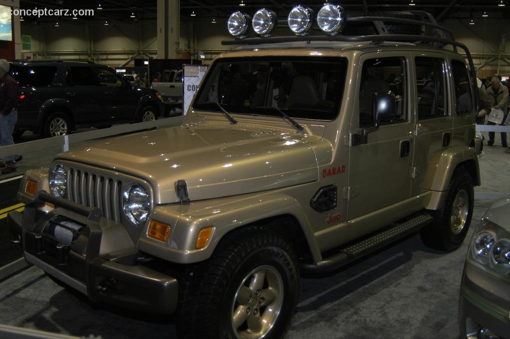 1997 Jeep Dakar Concept Image Https Www Conceptcarz Com