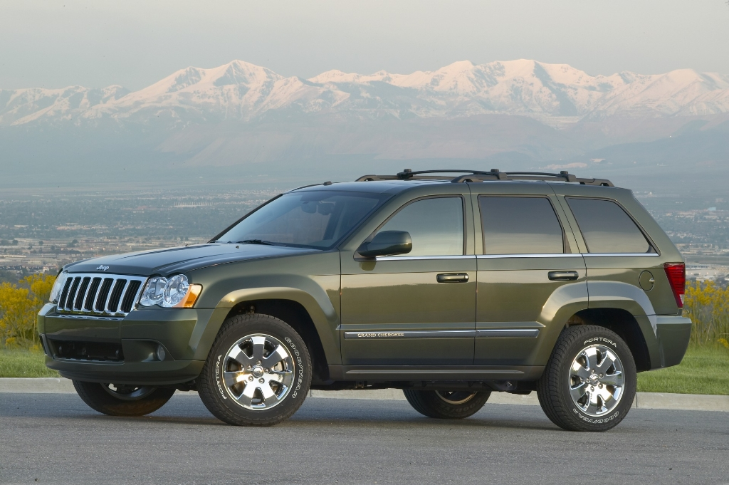 Auction Results And Sales Data For 2008 Jeep Grand Cherokee