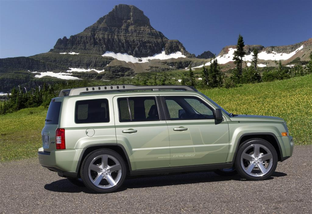 2009 Jeep Patriot EV Concept
