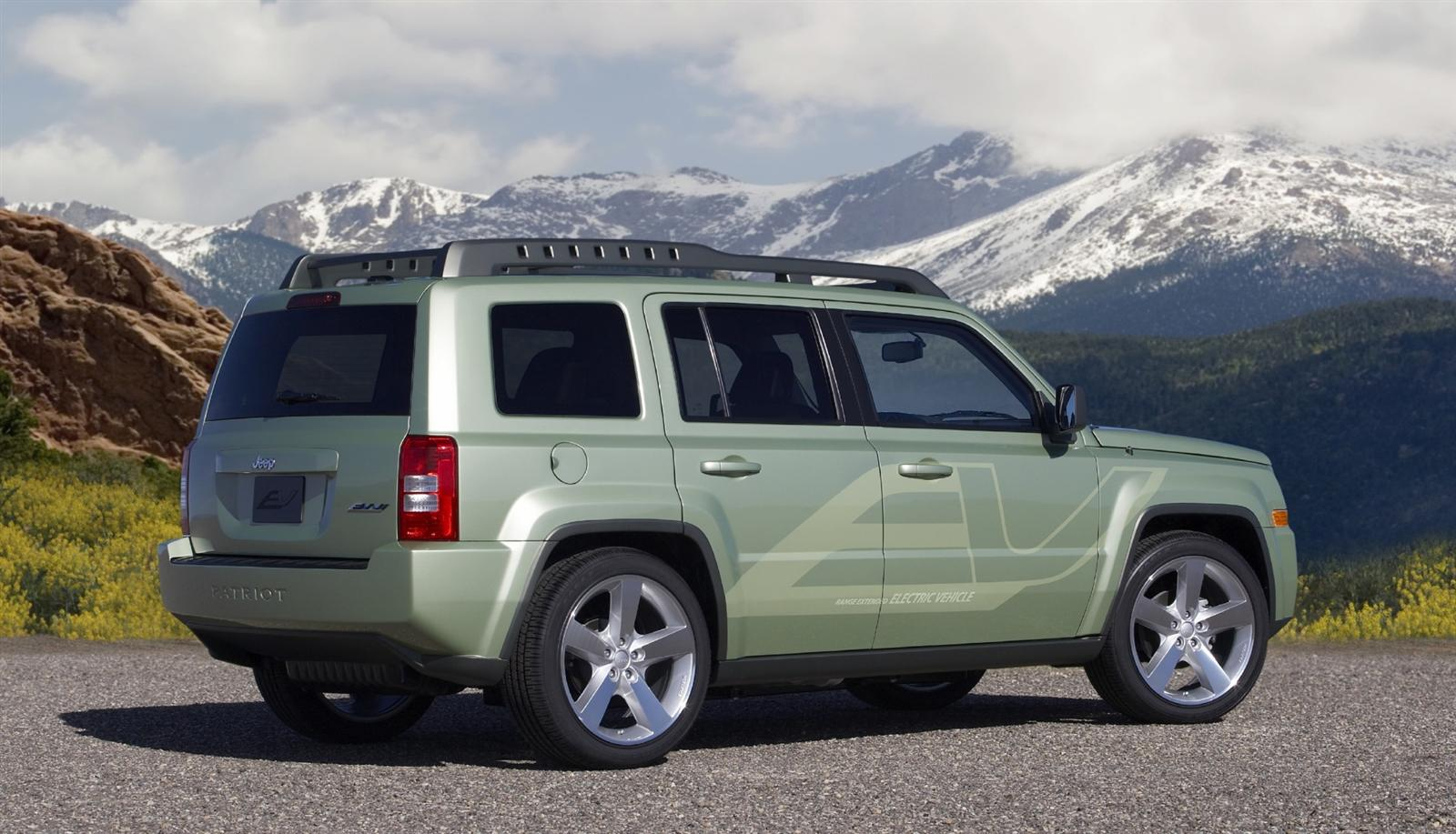 2009 Jeep Patriot EV Concept