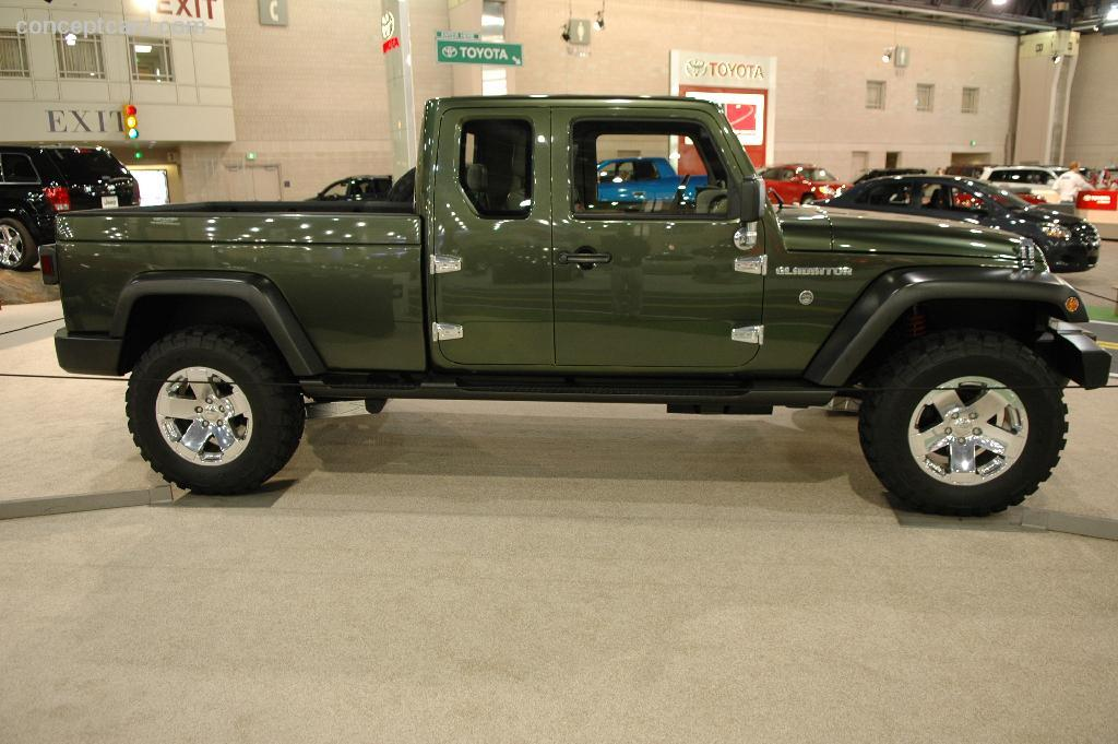 2005 Jeep Gladiator Concept Image Httpswwwconceptcarz