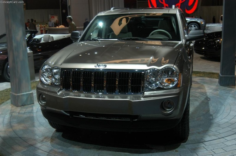 2005 jeep grand cherokee history pictures value auction sales research and news. Black Bedroom Furniture Sets. Home Design Ideas