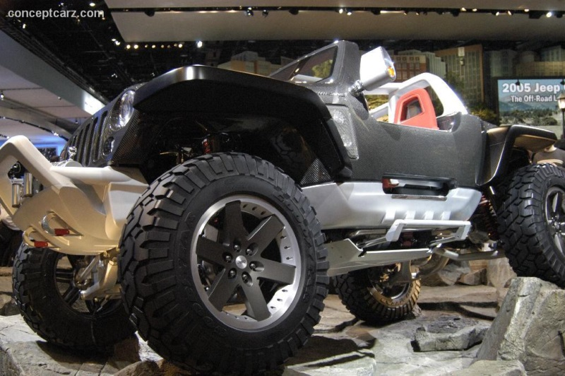 2006 Jeep Hurricane Concept Image Photo 27 Of 47