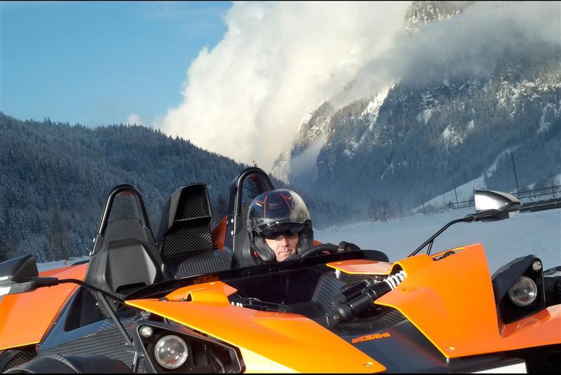 2009 KTM X-Bow Winter Drift