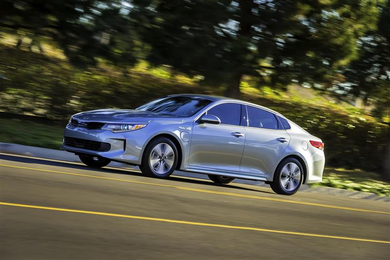 2016 Kia Optima Plug In Hybrid
