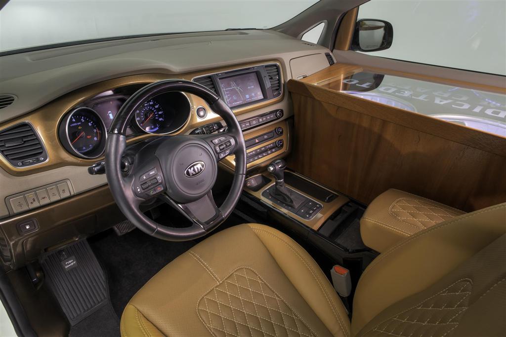2015 Kia Ballast Point Sedona SX Limited