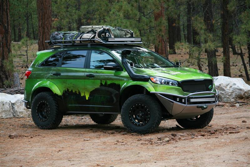 2015 Kia PacWest Adventure Sorento pictures and wallpaper