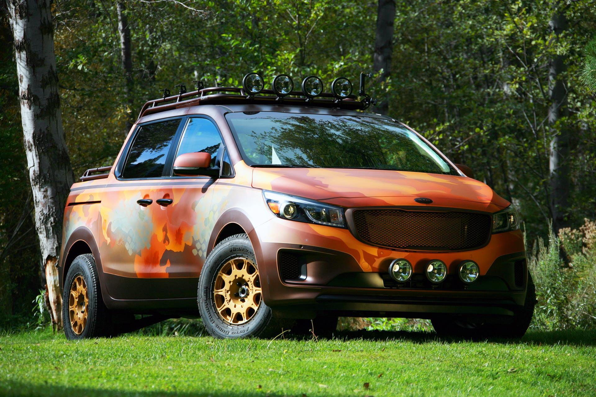 2015 Kia Photo Safari Sedona News and Information
