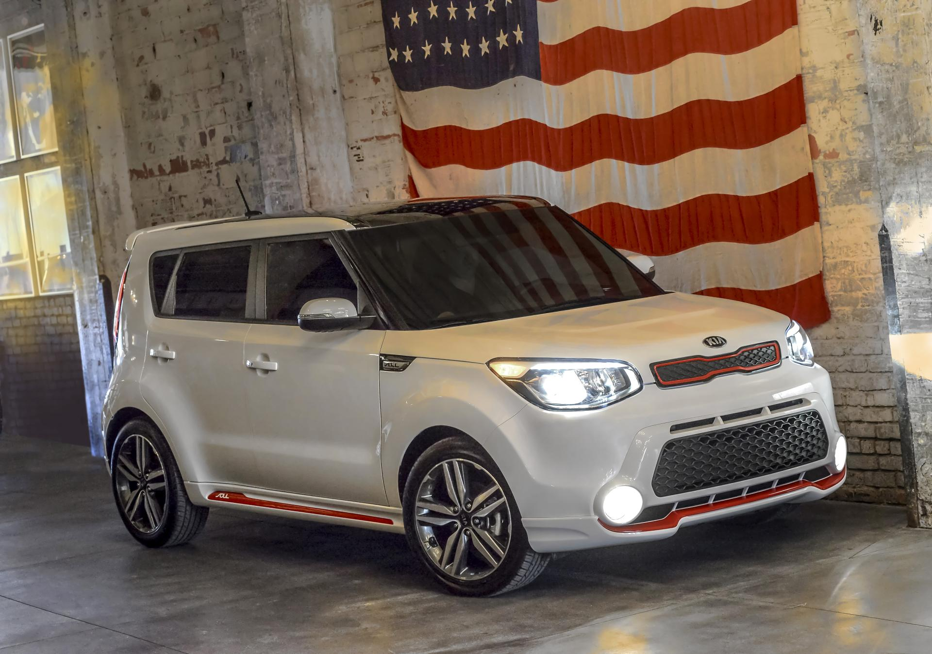 2014 Kia Soul Red Zone Edition Technical Specifications and Data