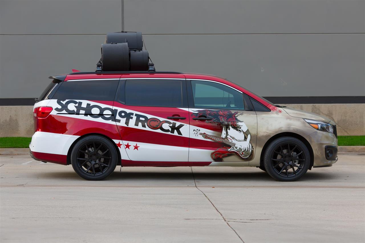 2016 Kia Sedona School of Rock