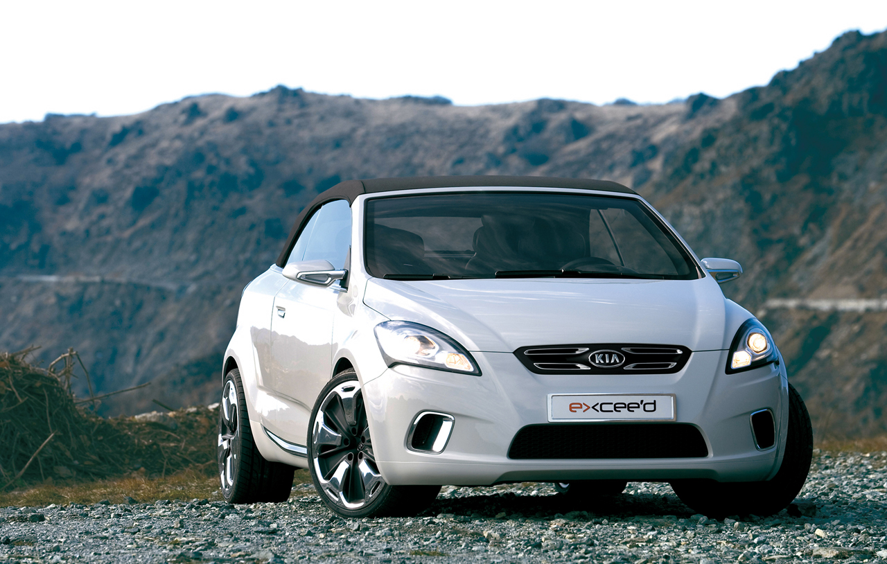 2007 Kia Ex Cee D Convertible Concept History Pictures Value Auction S Research And News