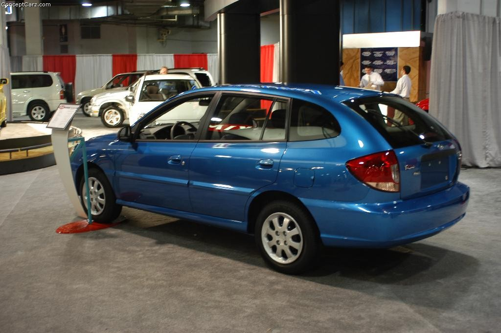 kia rio history pictures  auction sales research  news