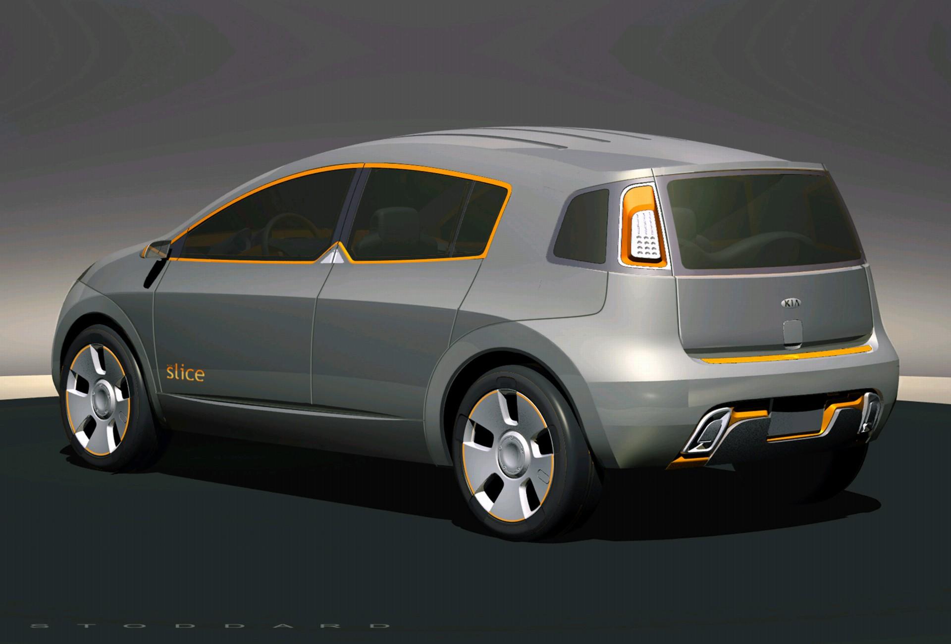 2003 Kia KCD-I Slice Concept