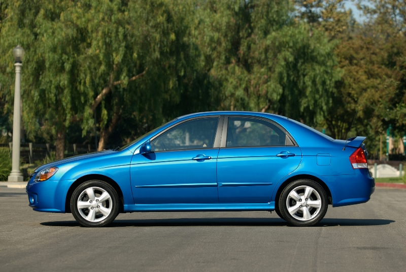 2008 Kia Spectra pictures and wallpaper