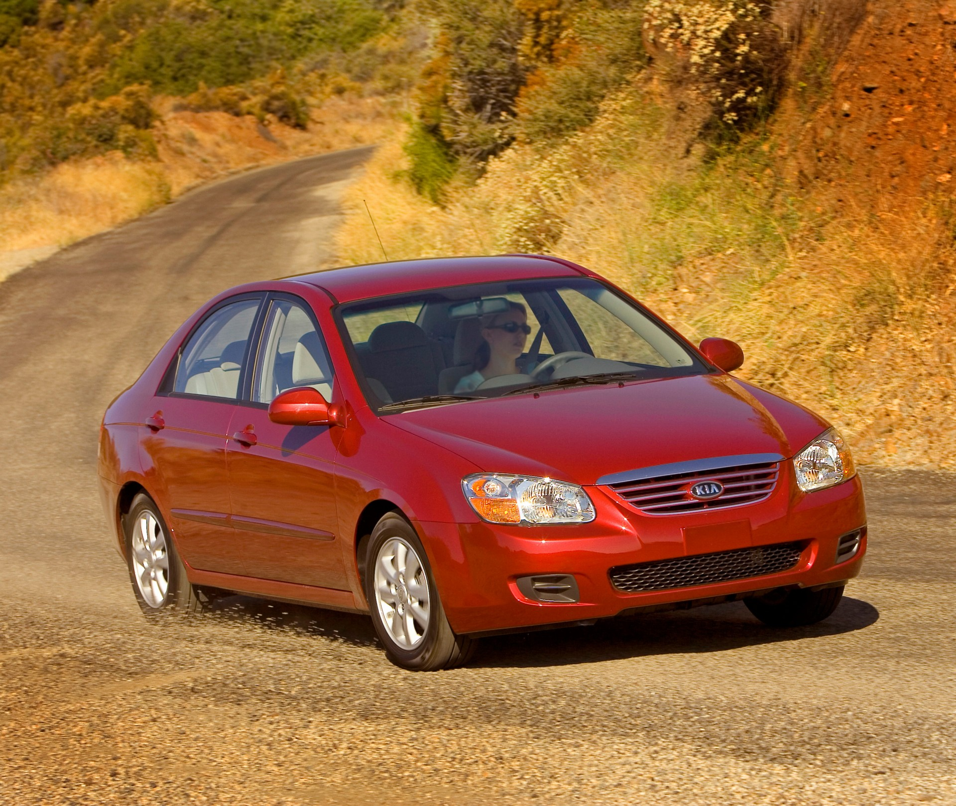 2007 Kia Spectra Pictures, History, Value, Research, News