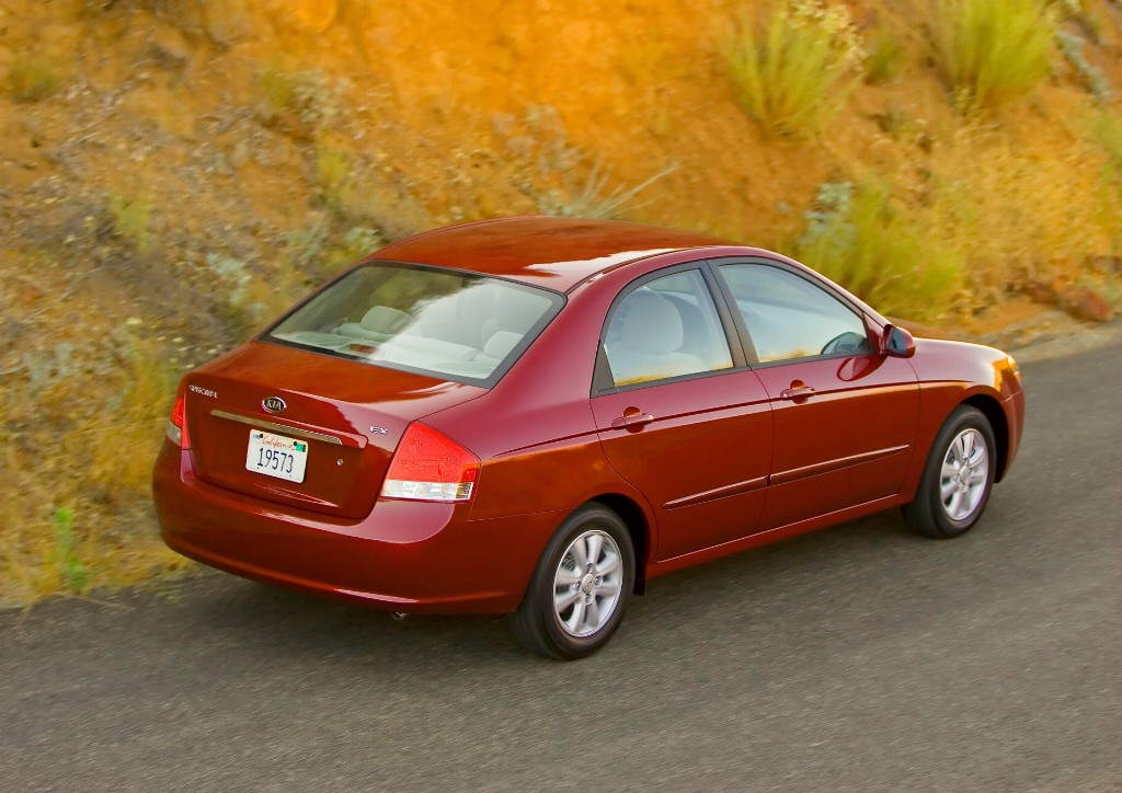 2007 kia spectra pictures history value research news