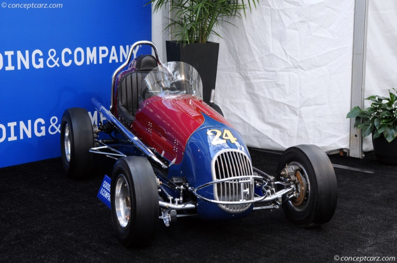Antique midget chassis